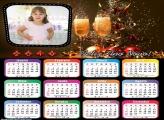 Calendário de Ano Novo 2019